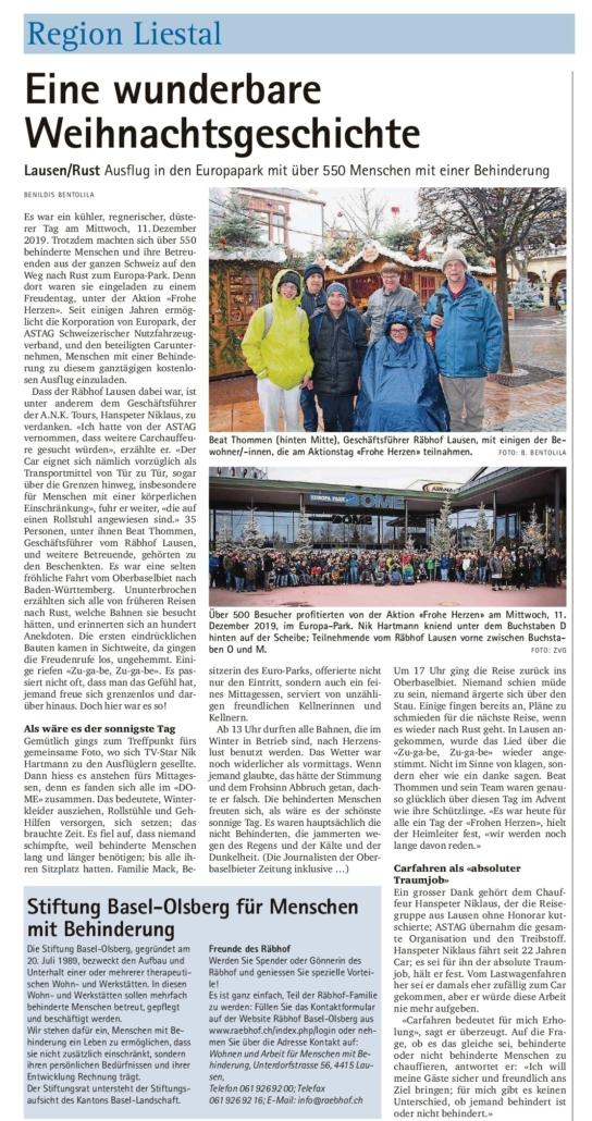 Artikel Ausflug