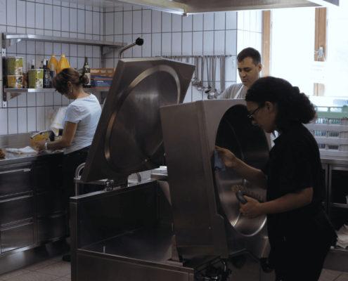arbeiten küche