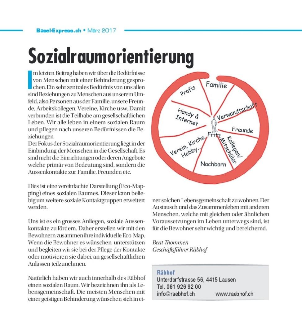 Artikel Sozialraumorientierung
